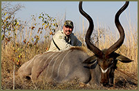 Bill harvested this 52-inch Kudo while hunting in Mozambique, Africa.
