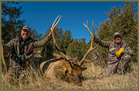 Bill couldn't pass up an invitation to hunt monster elk in New Mexico.