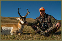 Bill took this impressive antelope while hunting in Wyoming.