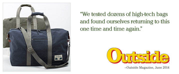 """We tested dozens of high-tech bags and found ourselves returning to this one time and time again."" – Outside Magazine, June 2014."