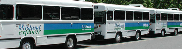 L.L.Bean supported Island Explorer Bus system.