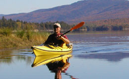 Enjoy 740 miles of rivers, streams, and lakes through New York, Vermont, Qu�bec, New Hampshire and Maine.