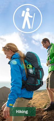 Get outfitted for your Maine vacation with L.L.Bean Hiking gear and clothing that's built to last.