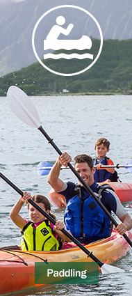 Get outfitted for your Maine vacation with L.L.Bean Paddling gear and clothing that's built to last.
