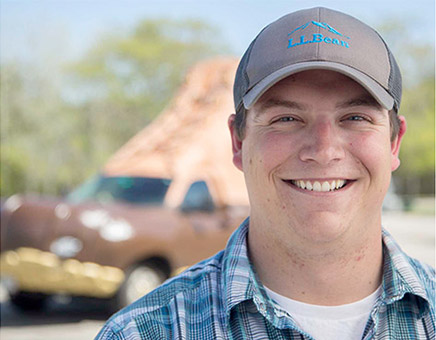 Behind the Wheel with Eddie Flaherty, Bootmobile Driver, Outdoorsman and L.L.Bean Ambassador.