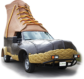 Our popular Bootmobile needed a sidekick. This one is a bit smaller, lighter and greener, with a biodiesel-compatible engine.