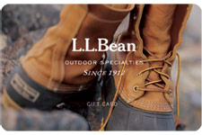L.L.Bean Gift Cards and e-Gift Cards: Delivered FREE by Mail or Email