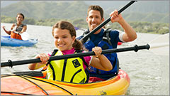 Paddling with L.L.Bean gear. From kayaks and paddleboards to paddles and wet suits. We have everything you need for paddling.