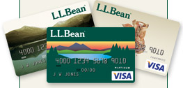 Only the L.L.Bean Card Gives You These Benefits