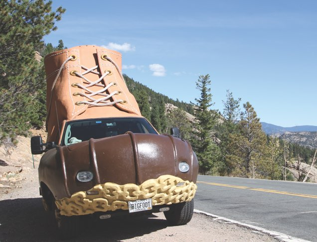 LOOK OUT FOR THE L.L.BEAN BOOTMOBILE The mobile version of our iconic boot is on the road ? and it could be coming soon to your local store or city!