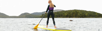 Stand-Up Paddleboarding at L.L.Bean