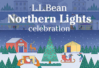 L.L.Bean Northern Lights Celebration